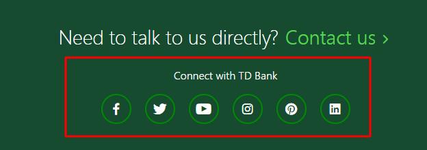 td bank social media