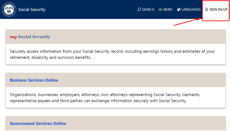 social-security-login