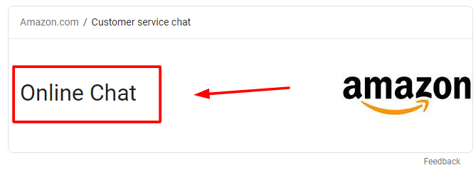 amazon live chat support