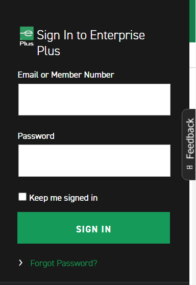 enterprise login