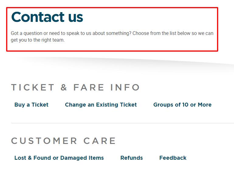 greyhound customer service