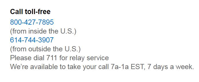 gap phone number