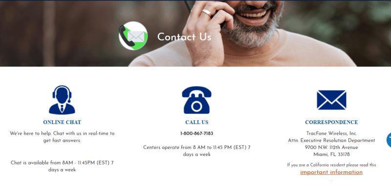 tracfone customer service