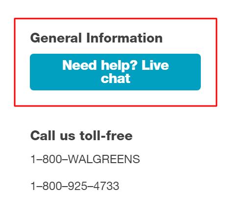 walgreens live chat