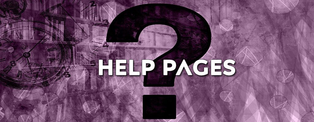help pages