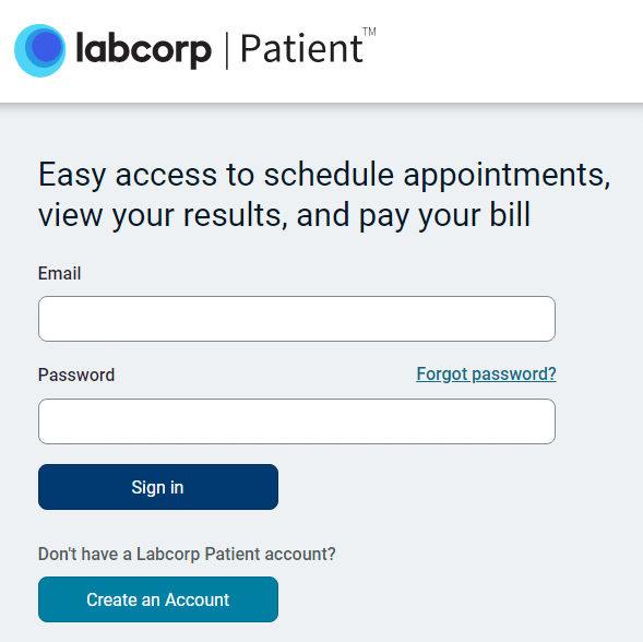 labcorp login